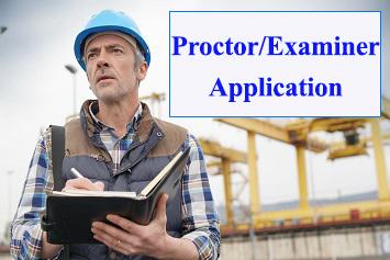 Proctor/Examiner Application